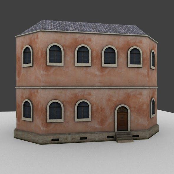 Building Tileset01 - 3DOcean Item for Sale