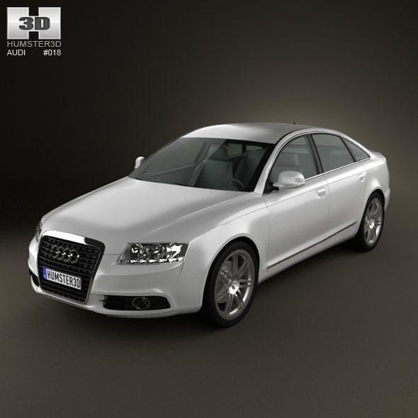 Audi A6 sedan 2011 - 3DOcean Item for Sale