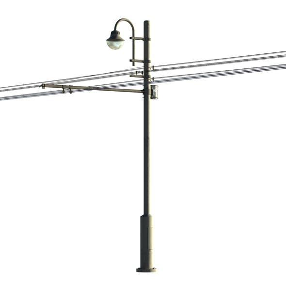 Street light 001 - 3DOcean Item for Sale