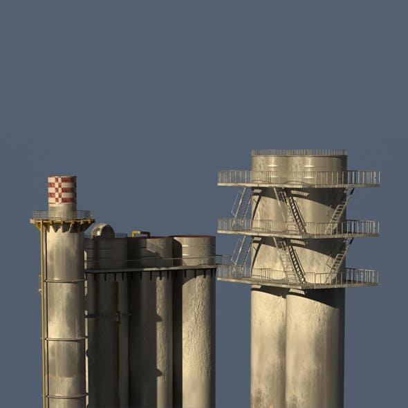 Industrial Models Snow - 3DOcean Item for Sale