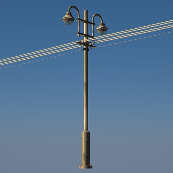 3D Street light - 3DOcean Item for Sale