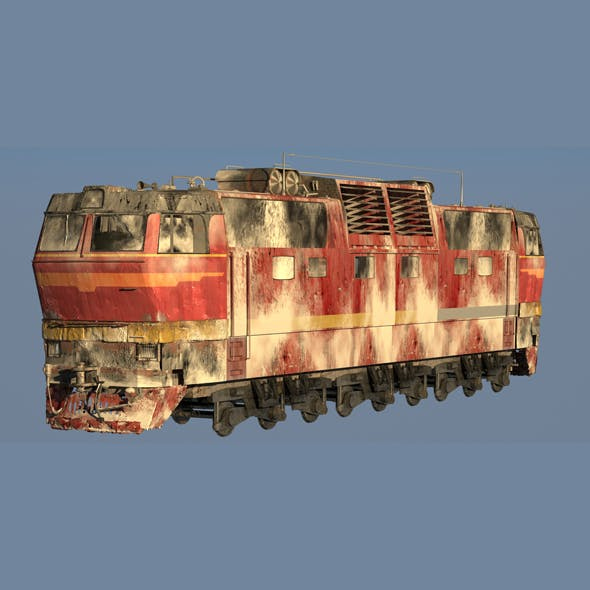 Train CS2T Snow - 3DOcean Item for Sale