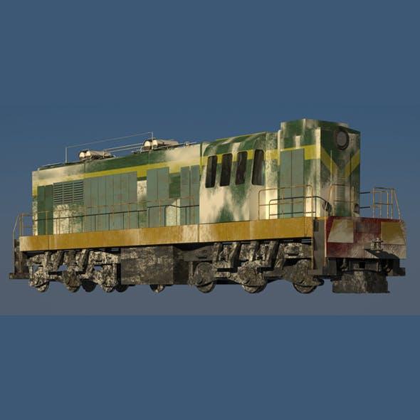 Train Locomotive Snow
