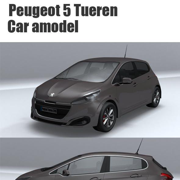 Peugeot 5 Tueren