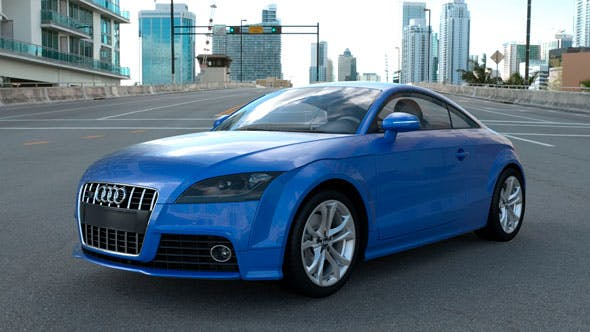 Audi TTs - 3DOcean Item for Sale