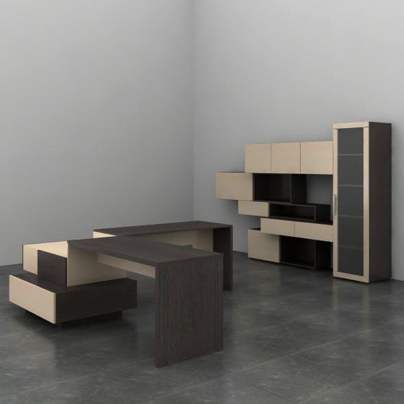 Office furniture 03 - 3DOcean Item for Sale