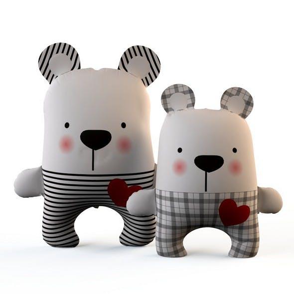 Bears textile toys
