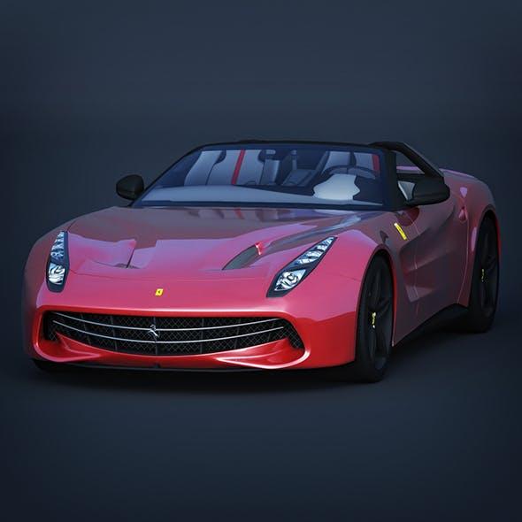 Vray Ready Ferrari F60 Car