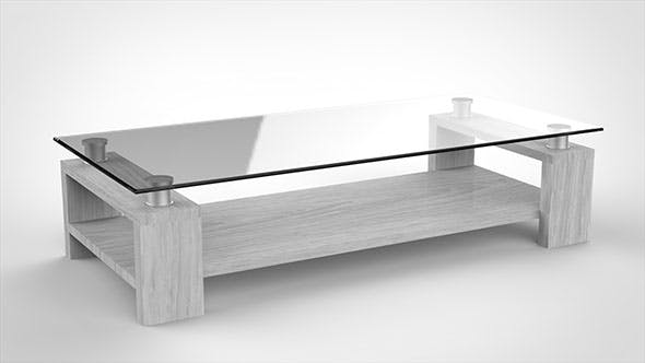 Modern Coffee Table. - 3DOcean Item for Sale