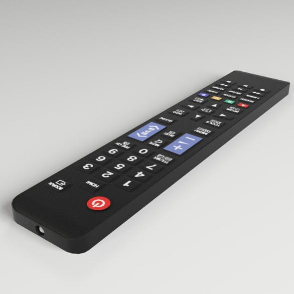 TV Remote Control - 3DOcean Item for Sale