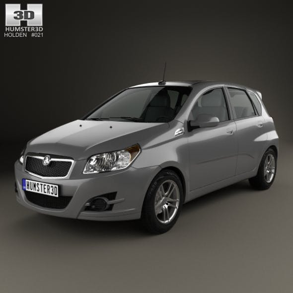 Holden Barina (TK) hatchback 2008 - 3DOcean Item for Sale