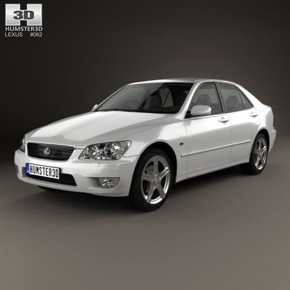 Lexus IS (XE10) 2001 - 3DOcean Item for Sale