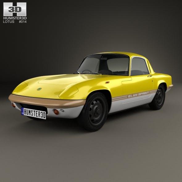 Lotus Elan Sprint Fixed-head Coupe 1971