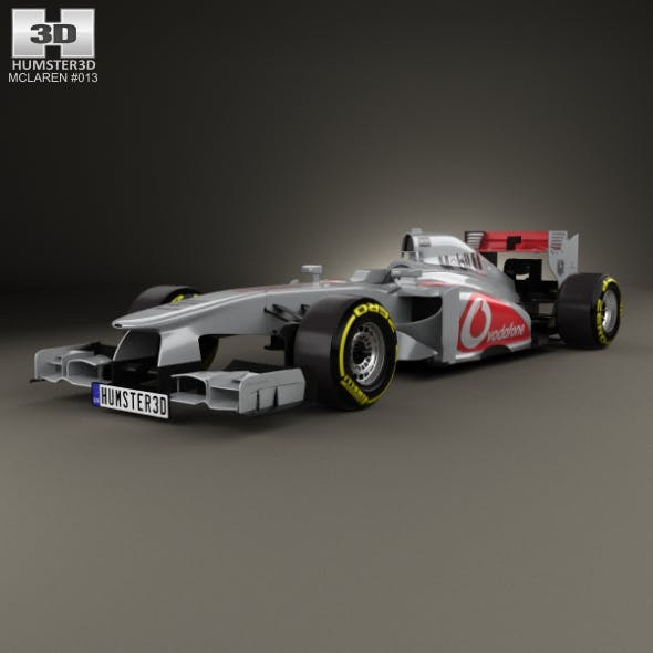 McLaren MP4-28 2013 - 3DOcean Item for Sale