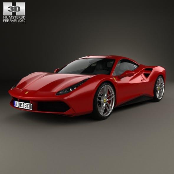 Ferrari 488 GTB 2016 - 3DOcean Item for Sale