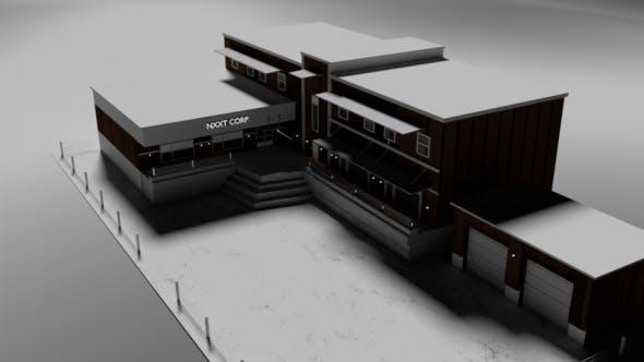 Business complex - 3DOcean Item for Sale