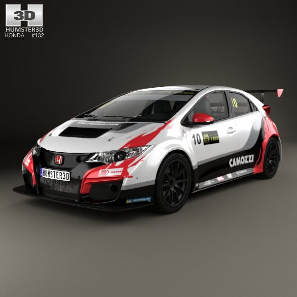 Honda Civic Type-R TCR 2015 - 3DOcean Item for Sale