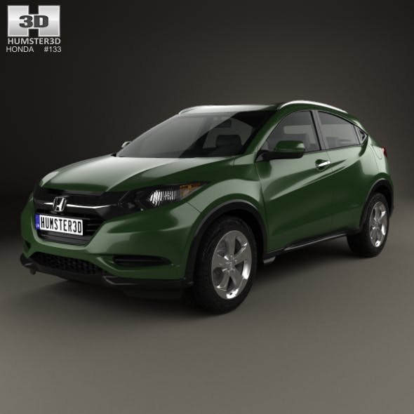Honda HR-V LX 2015 - 3DOcean Item for Sale