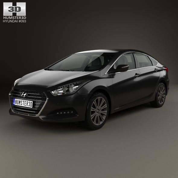 Hyundai i40 sedan 2015 - 3DOcean Item for Sale