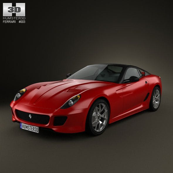 Ferrari 599 GTO 2011 - 3DOcean Item for Sale