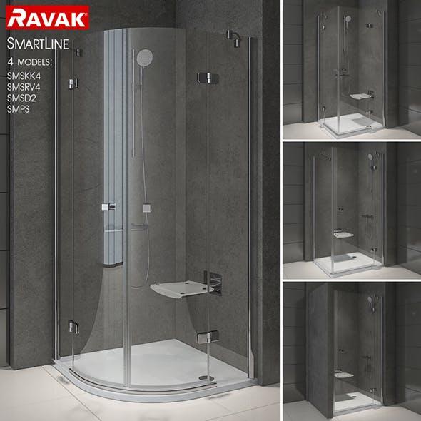 Shower room RAVAK SmartLine - 3DOcean Item for Sale