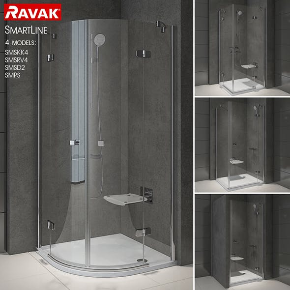 Shower room RAVAK SmartLine