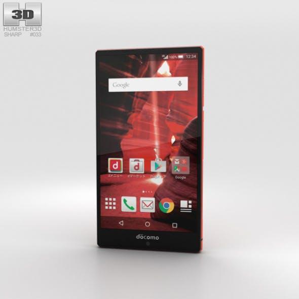 Sharp Aquos Zeta SH-03G Red