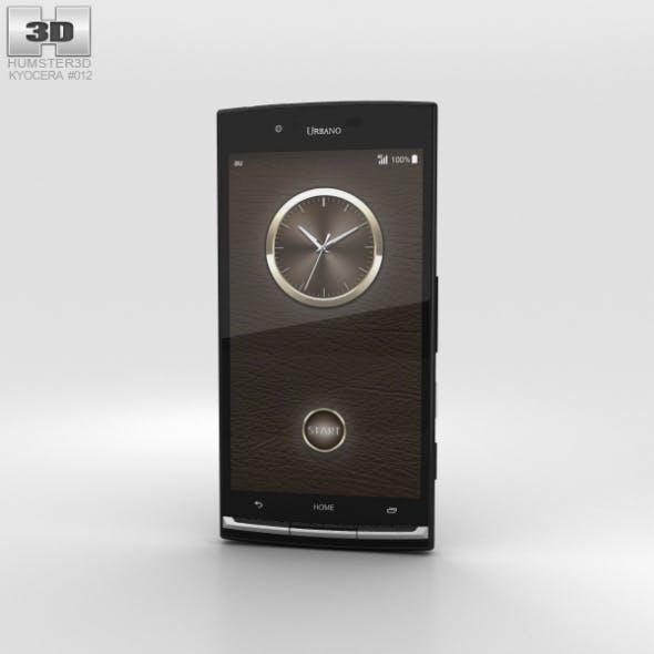Kyocera Urbano V02 Black - 3DOcean Item for Sale