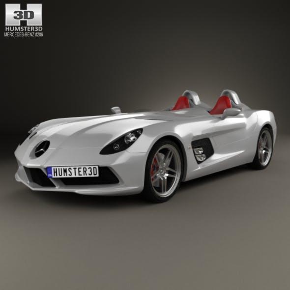 Mercedes-Benz SLR McLaren Stirling Moss 2009 - 3DOcean Item for Sale