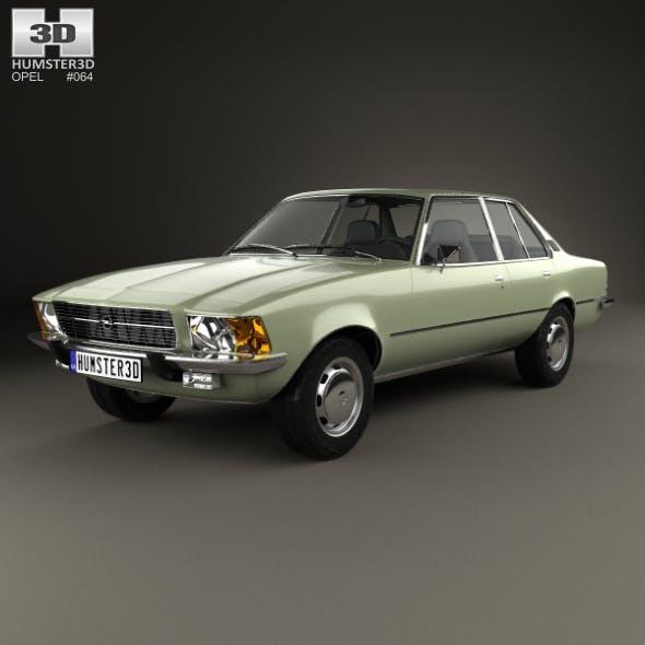 Opel Rekord (D) 1972 - 3DOcean Item for Sale