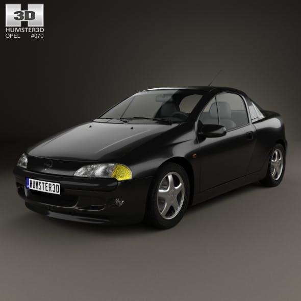 Opel Tigra 1994 - 3DOcean Item for Sale