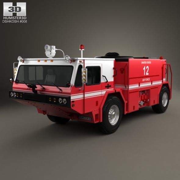 Oshkosh P19 Fire Truck 1984