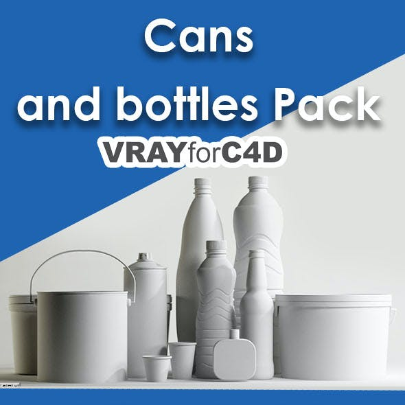 Cans and bottles Pack