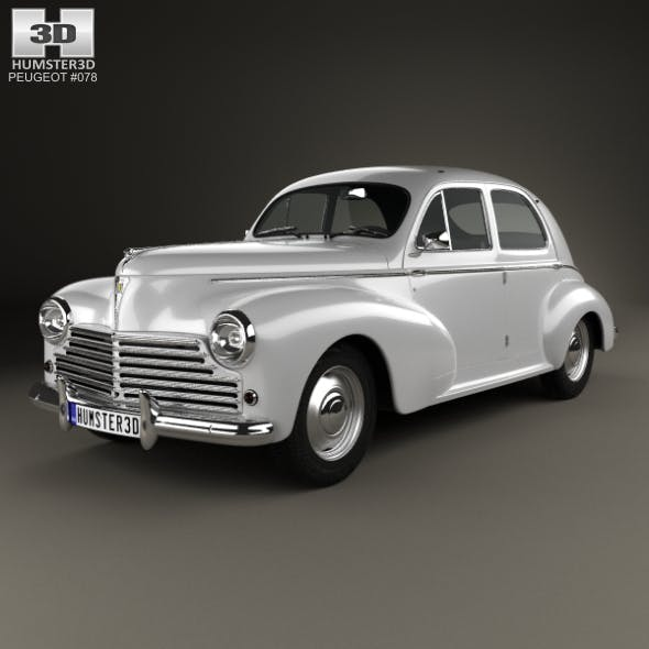 Peugeot 203 1948 - 3DOcean Item for Sale