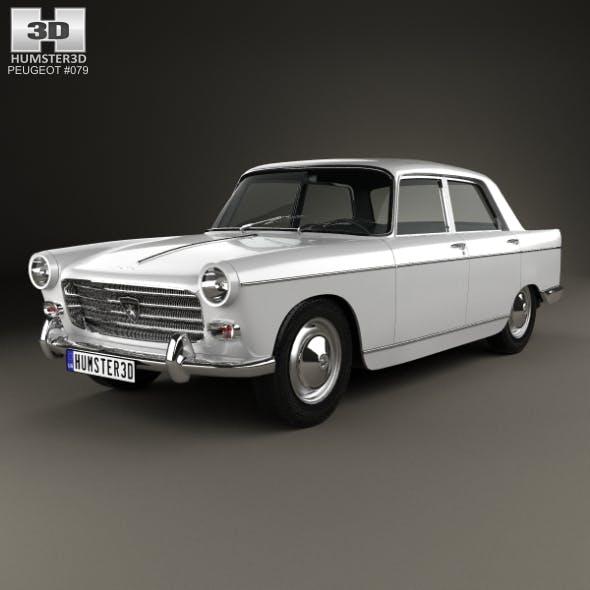 Peugeot 404 Berline 1960 - 3DOcean Item for Sale