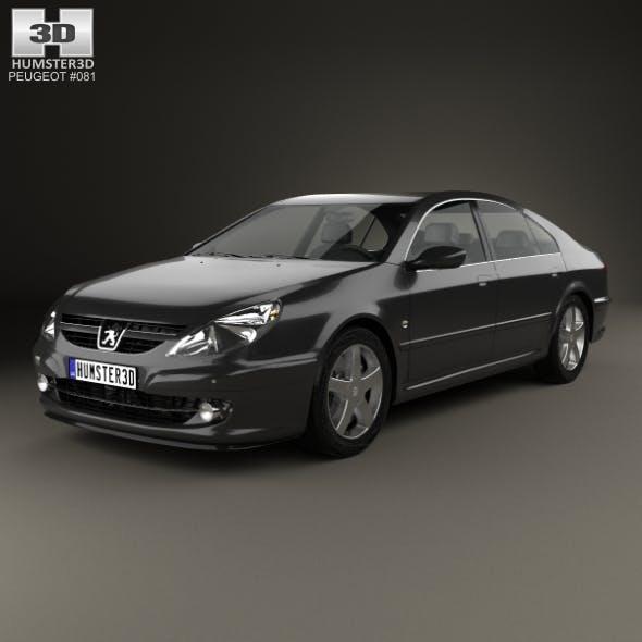 Peugeot 607 2004 - 3DOcean Item for Sale