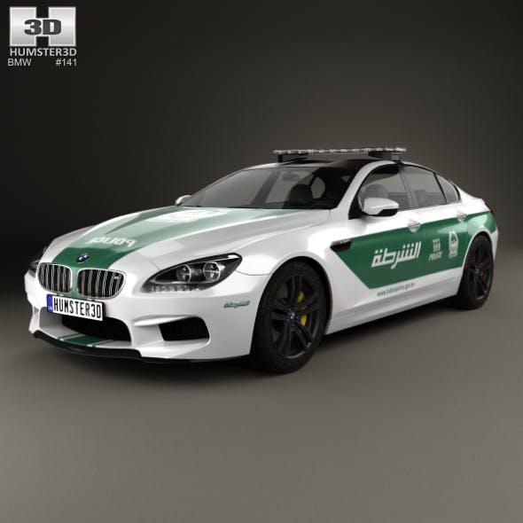 BMW 6 Series M6 (F13) GranCoupe Police Dubai 2014
