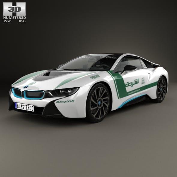 BMW i8 Police Dubai 2015