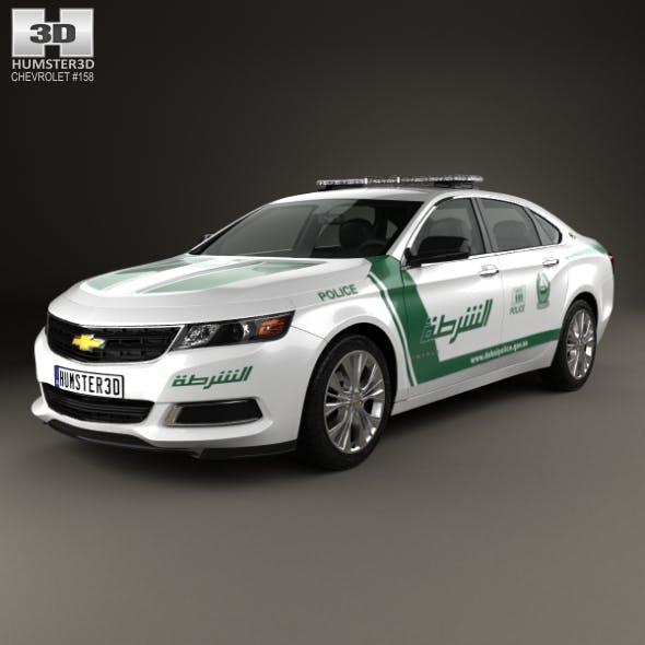 Chevrolet Impala Police Dubai 2014