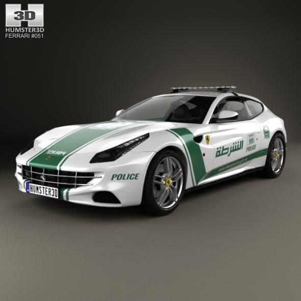 Ferrari FF Police Dubai 2013