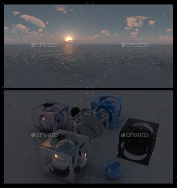 Ocean Dawn 13 - HDRI - 3DOcean Item for Sale