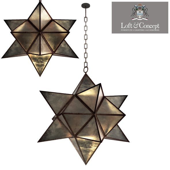 Star Vintage Iron - 3DOcean Item for Sale
