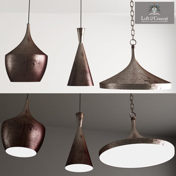 Copper Pendant Lamp Beat Light DESIGNED BY TOM DIXON