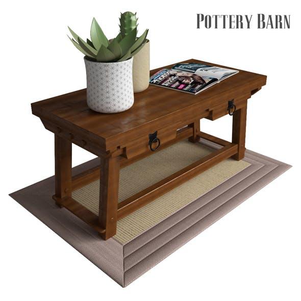 Pottery Barn Monroe Console Table