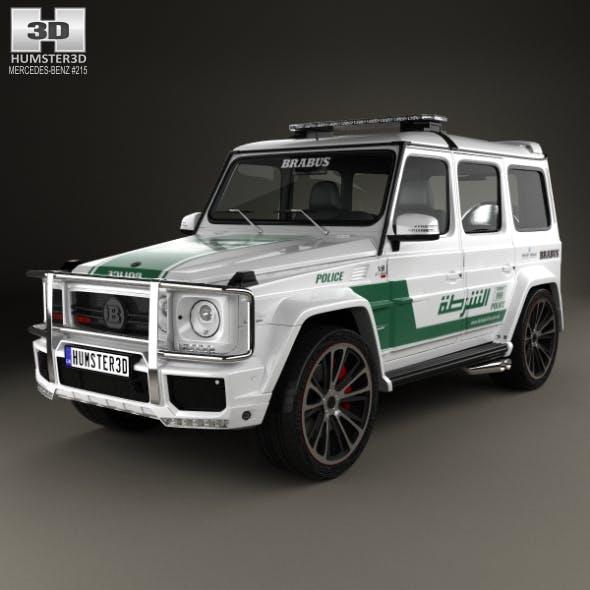 Mercedes-Benz G-class Brabus G700 Widestar Police Dubai 2013