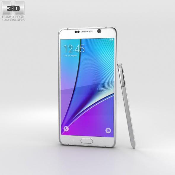 Samsung Galaxy Note 5 White Pearl - 3DOcean Item for Sale