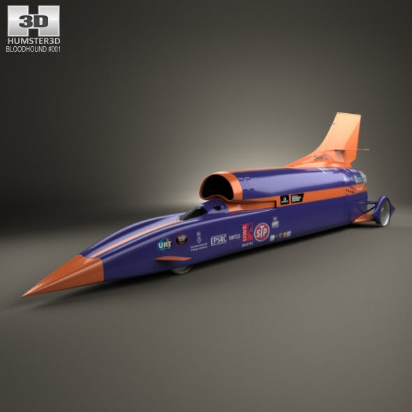 Bloodhound SSC 2015 - 3DOcean Item for Sale