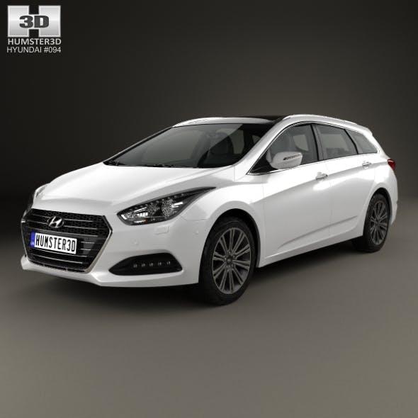 Hyundai i40 wagon 2015 - 3DOcean Item for Sale