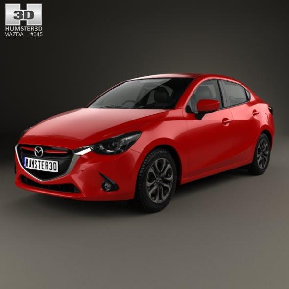 Mazda 2 (Demio) 2015 - 3DOcean Item for Sale