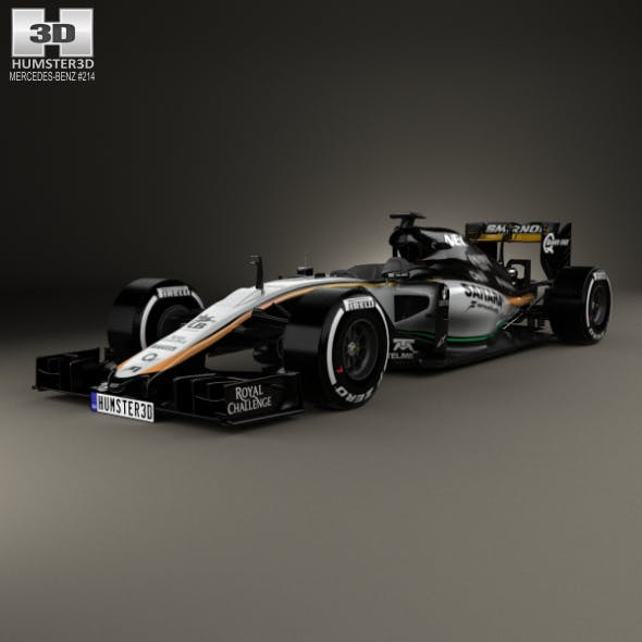 Force India VJM08 2015 - 3DOcean Item for Sale